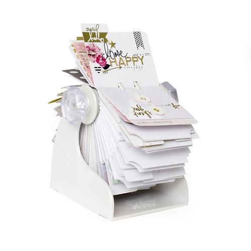 Memorydex rotatif blanc Heidi Swapp