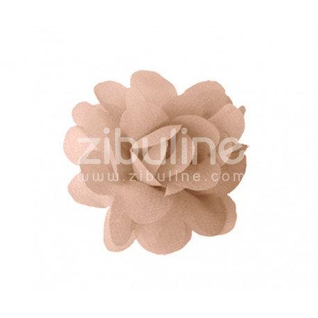 Fleur chiffon beige