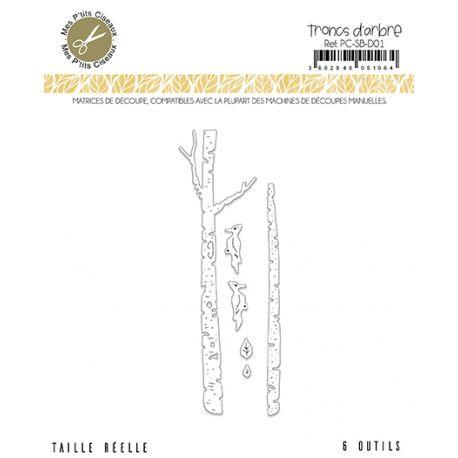 Matrices de découpe Troncs d'arbre - Sous-Bois Mes Ptits Ciseaux