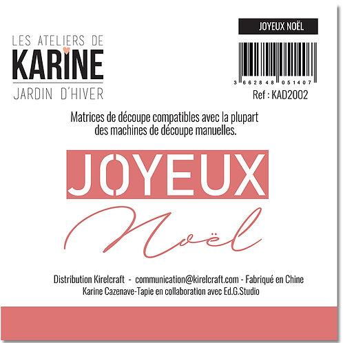 Dies Joyeux Noël LES ATELIERS DE KARINE- Jardin d'Hiver