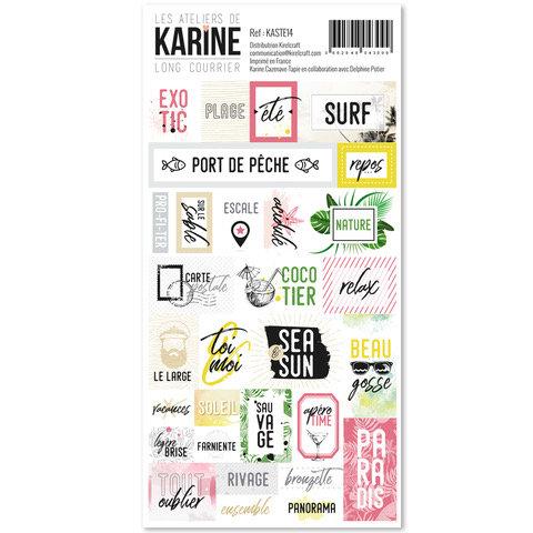 Stickers Long Courrier LES ATELIERS DE KARINE