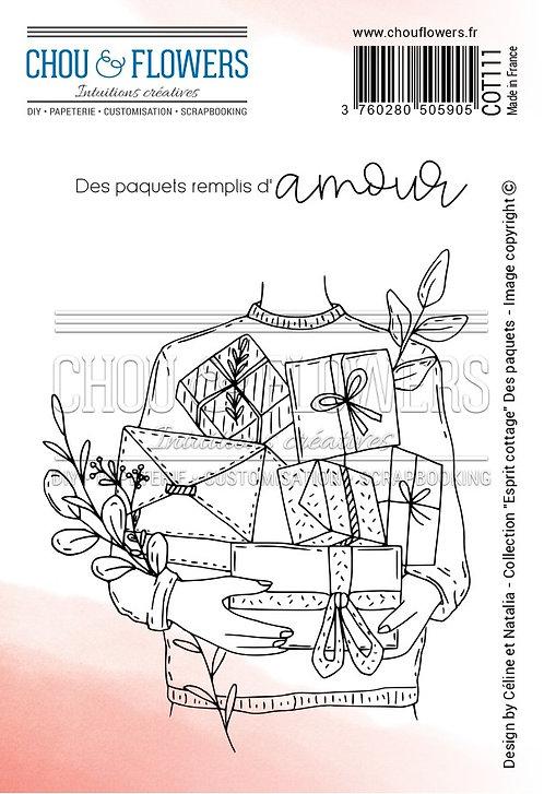 Tampons EZ Des paquets Chou & Flowers Esprit Cottage