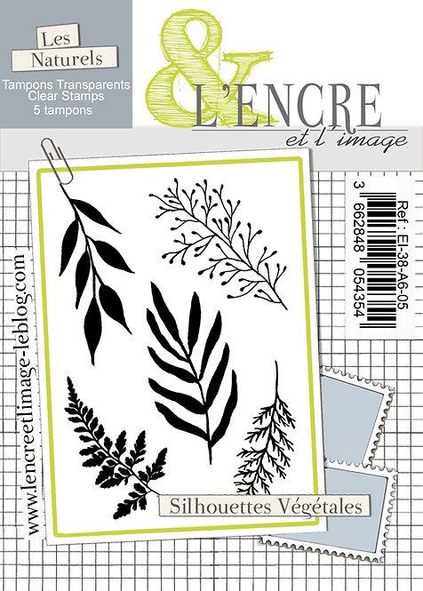 Tampons clears Silhouettes Végétales - L'Encre et l'Image