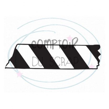 Tampon Masking tape Comptoir du Scrap