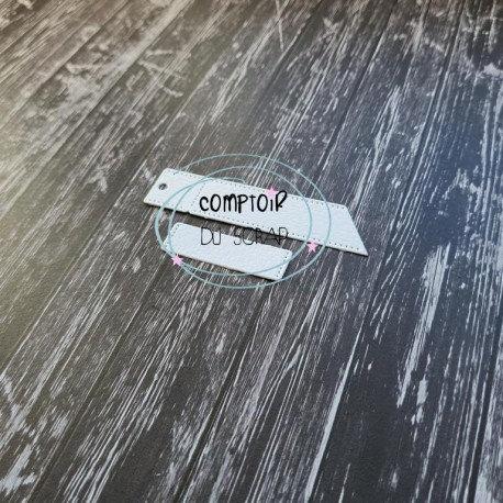Die set 2 étiquettes Comptoir du Scrap