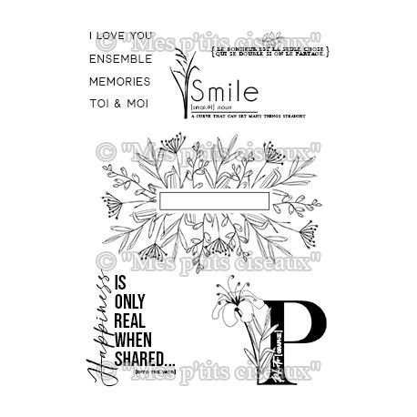Tampons clears Smile - O Jardin Mes Ptits Ciseaux