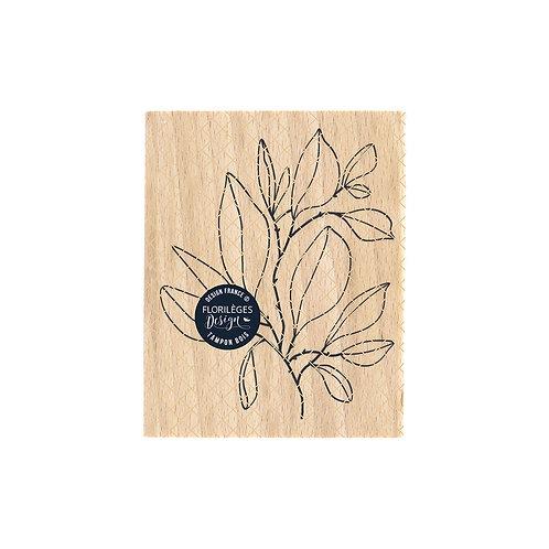 Tampon bois Feuillage foisonnant Florilèges Design