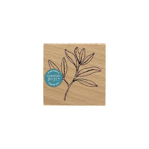 Tampon bois Feuillage léger Florilèges Design La Maison de Jeanne