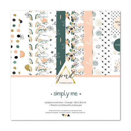 Collection papiers Simply Me PAPERNOVA DESIGN
