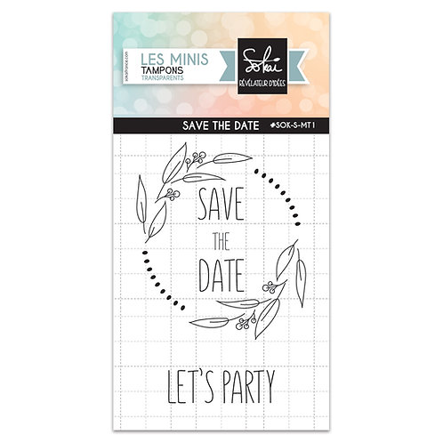 Tampon clears Save the date SOKAI SO'Special