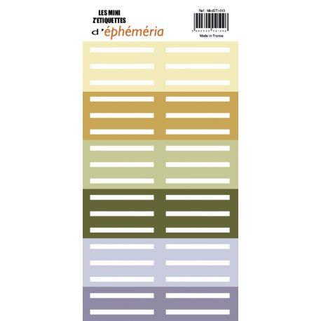 Minis Z'étiquettes Natur(elle) Ephéméria