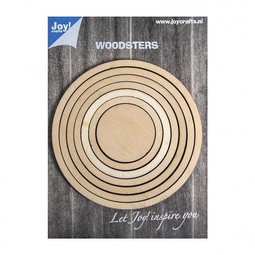 Cercles bois Joy Crafts