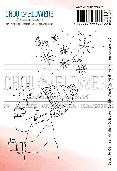 Tampons EZ Bulles d'hiver Chou & Flowers Souffle d'hiver