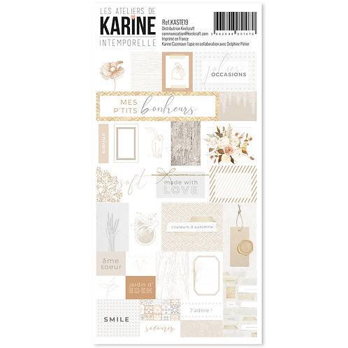 Stickers Etiquettes Intemporelle LES ATELIERS DE KARINE