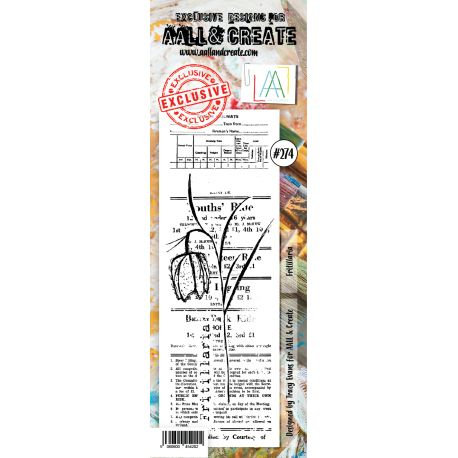 Stamp set #274- Aall and create