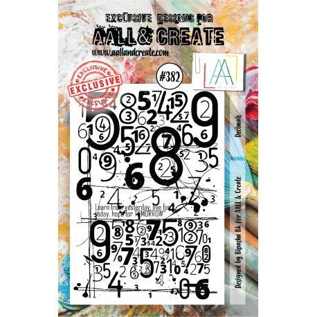 Stamp set #382- Aall and create