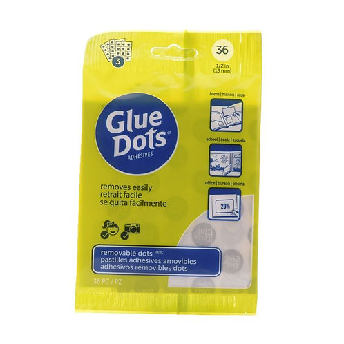 Glue dots Repositionnable 13mm