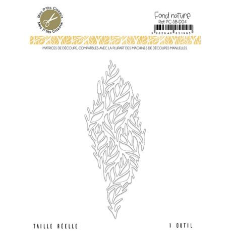 Matrices de découpe Fond Nature - Sous-Bois Mes Ptits Ciseaux