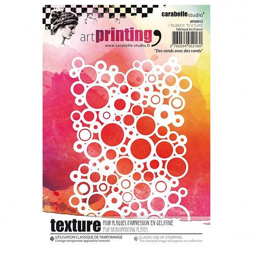 Art printing A6 Carabelle studio Des ronds avec des ronds