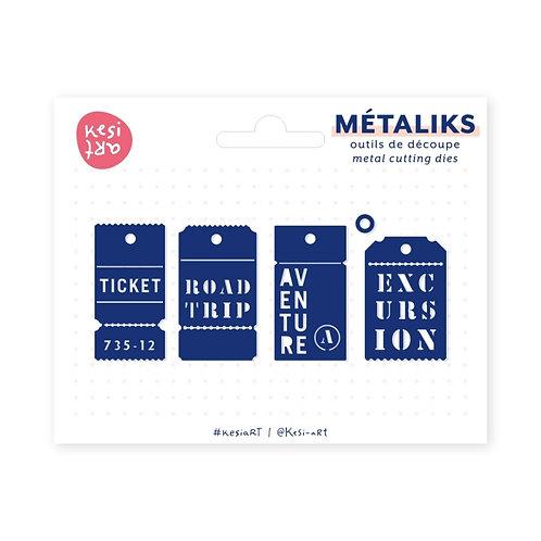 Outil de découpe Métaliks Tickets Kesi'Art