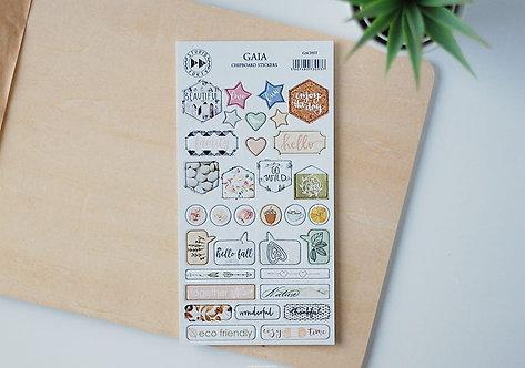Set de Chipboard stickers STUDIO FORTY Gaia