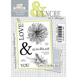 Tampons clears Love is in the Air - L'Encre et l'Image