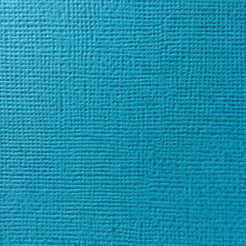 Cardstock Bleu vert 30,5x30,5 cm 216gr