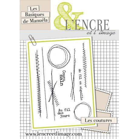 Tampons clears Les coutures - L'Encre et l'Image