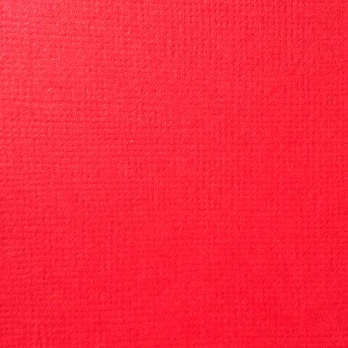 Cardstock Rouge 30,5x30,5 cm 216gr