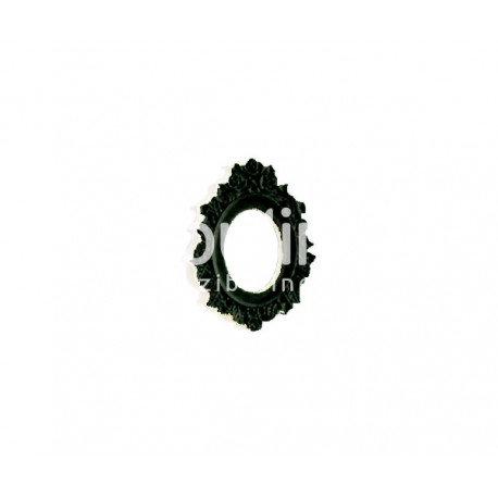 Cadre baroque noir Zibuline