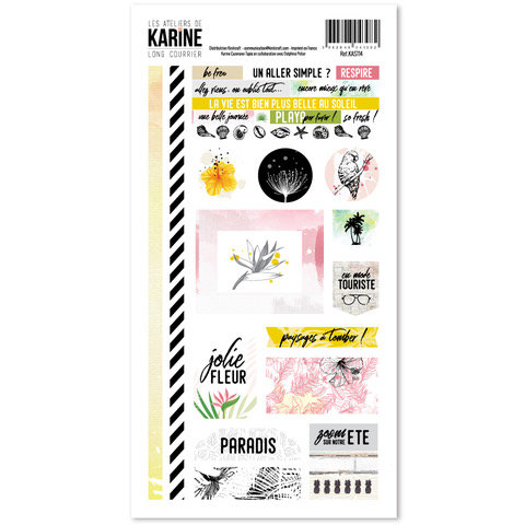 Stickers Long Courrier LES ATELIERS DE KARINE