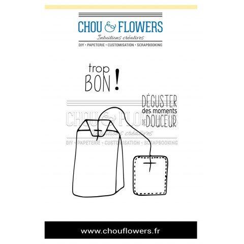 Tampons EZ Sachet de thé CHOU & FLOWERS C'est de saison : Hiver