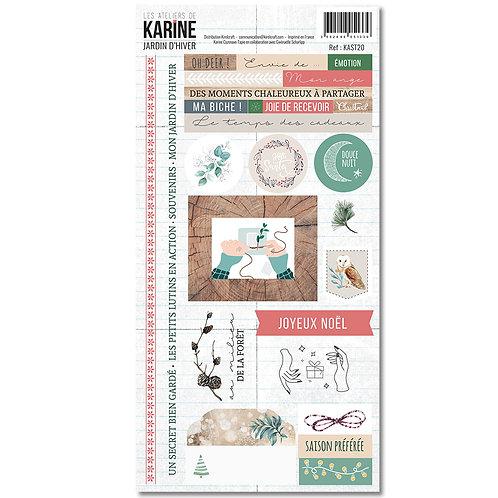 Stickers Jardin d'Hiver LES ATELIERS DE KARINE