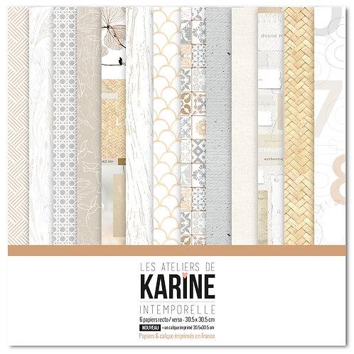 Collection papiers LES ATELIERS DE KARINE- Intemporelle