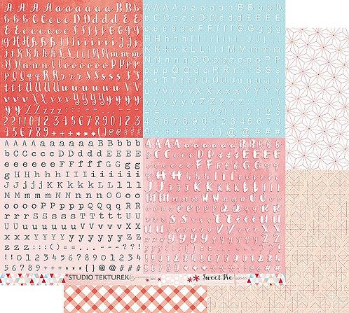 Feuille Add-on collection Sweet Pie STUDIO TEKTUREK