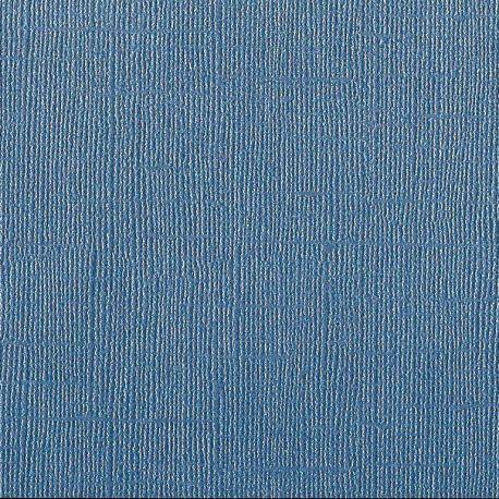 Cardstock Vintage Pearl bleu foncé 30,5x30,5 cm 216gr