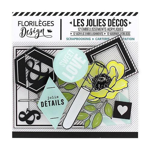 Décos acryliques Florilèges Design The Story of us
