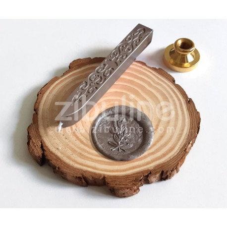 Bâton de cire Taupe avec mèche