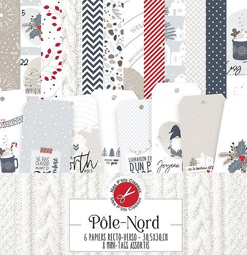 Collection papiers Pôle Nord -Mes Ptits Ciseaux