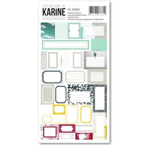 Stickers Etiquettes LES ATELIERS DE KARINE Correspondances
