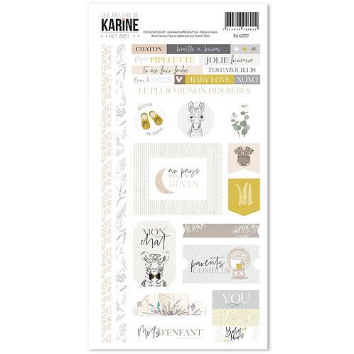 Stickers Hey Baby ! LES ATELIERS DE KARINE