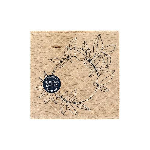 Tampon bois Anneau d'Automne Florilèges Design