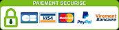 logo paiments sécurisés boutique de scrapbooking Creascrap by Syl