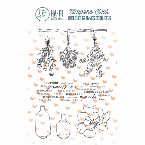 Tampons clears Jolis bouquets - HA.PI LITTLE FOX Quelques grammes de douceur