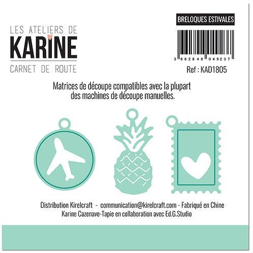 Dies Breloques estivales LES ATELIERS DE KARINE- Carnet de Route