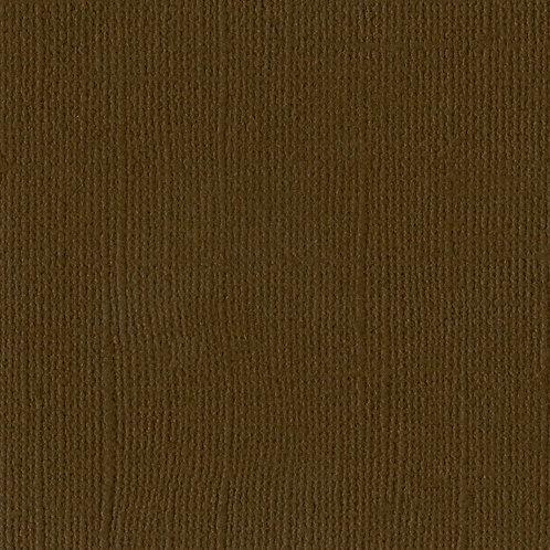 Cardstock Marron foncé 30,5x30,5 cm 216gr