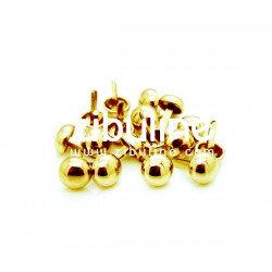 Brad 10mm doré