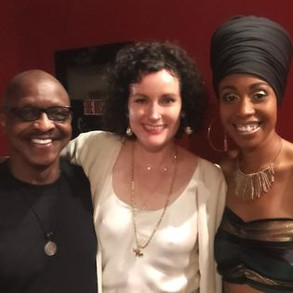 with Jazzmeia Horn and Lizzie Thomas