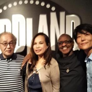 with Charito Vergara, Shunsuke Umino, and Bean Nakajima