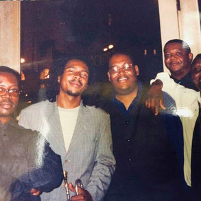 Bernard Linnette and the great Roy Hargrove